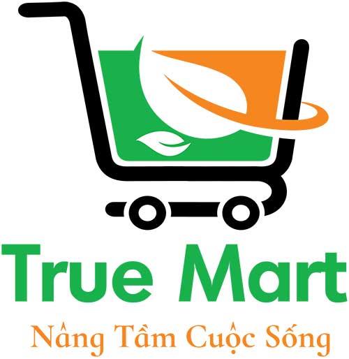 Logo quảng cáo đẹp cho true mart