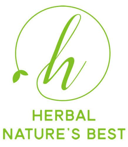 Logo shop mỹ phẩm thiên nhiên Herbal
