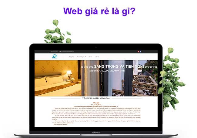 web giá rẻ là gì?