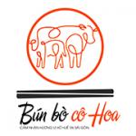 Logo bún bò Cô Hoa