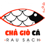 Logo thực phẩm chả giò cá rau sạch