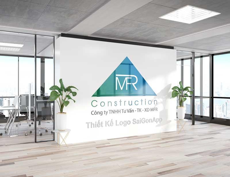 Hình ảnh logo đã bàn giao cho công ty MFR